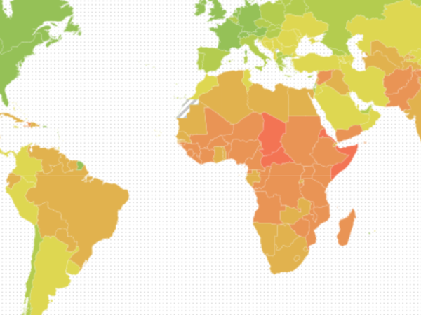 Country Index Updated With New Food Dependency Data